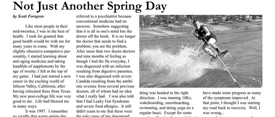 Not Just Another Spring Day