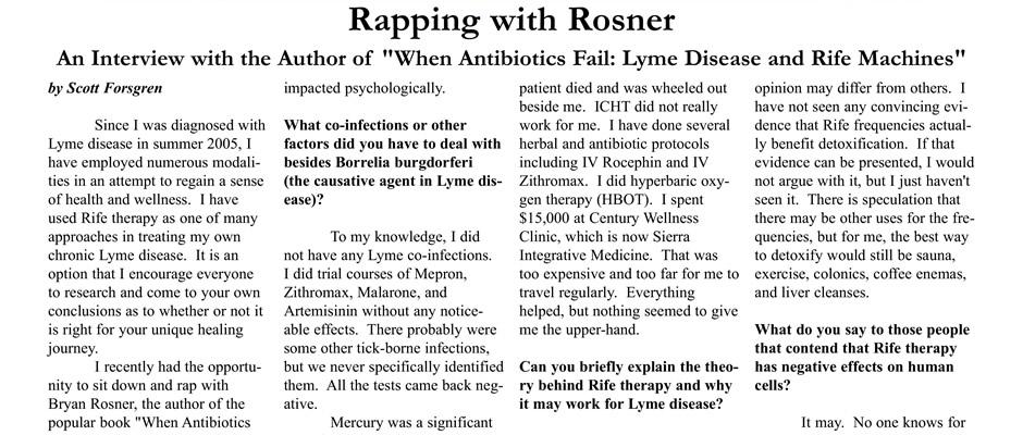 Bryan Rosner - Rapping with Rosner