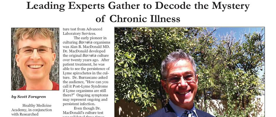 Leading Experts Gather to Decode the Mystery of Chronic Illness