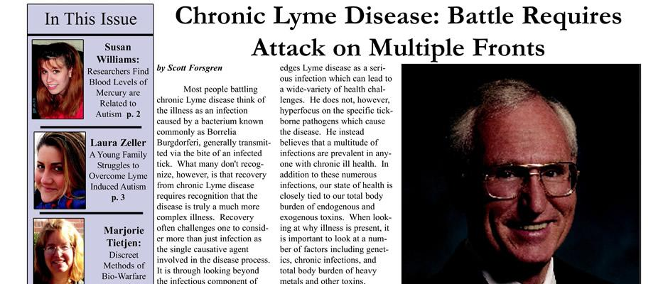 Garry Gordon - Chronic Lyme Disease: Battle Requires Attack On Multiple Fronts