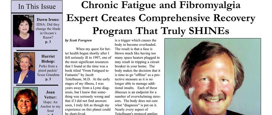 Jacob Teitelbaum - Chronic Fatigue and Fibromyalgia Expert Creates Comprehensive Recovery Program That Truly SHINEs