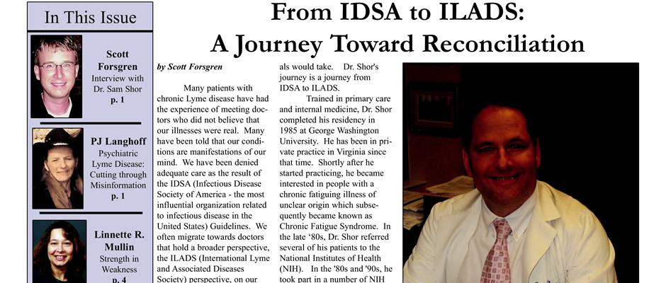 Sam Shor - From IDSA to ILADS: A Journey Toward Reconciliation