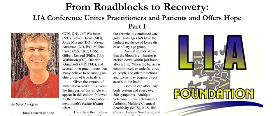 From Roadblocks to Recovery: LIA Conference Unites Practitioners and Patients and Offers Hope - Part 1