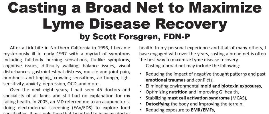 Casting a Broad Net to Maximize Lyme Disease Recovery
