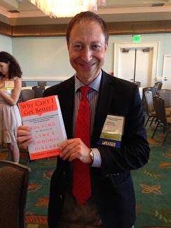 Dr. Horowitz with his exciting new book